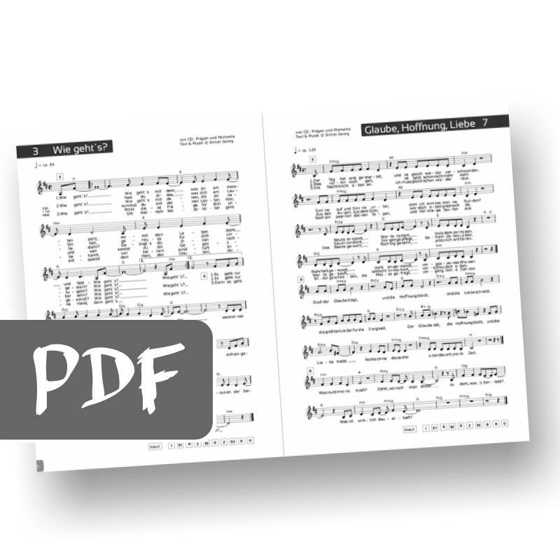Songbook Download (PDF) \